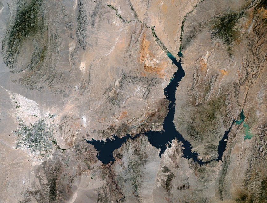 Usa, lago Mead mai così a secco: riserva d'acqua ai minimi storici