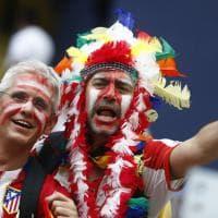 Finale Champions, lo spettacolo dei tifosi spagnoli a San Siro