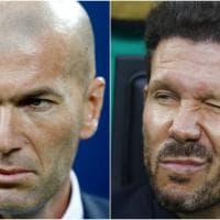 Finale Champions, Simeone e Zidane: la sfida delle panchine