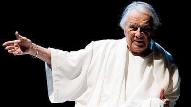 Addio a Giorgio Albertazzi   foto   -   video   l'ultimo imperatore del teatro italiano