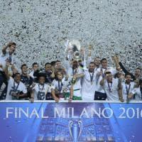 Finale Champions, trionfa il Real Madrid sull'Atletico: la premiazione