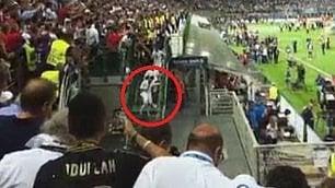 Ronaldo zoppica dopo il trionfo Scende incerto la scala di S. Siro