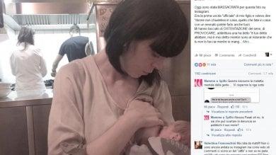 """La mamma che allatta insultata sui social """"Sei una provocatrice e un'esibizionista"""""""