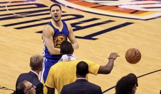 Basket, play off Nba: Thompson trascina Golden State, sbancata Oklahoma: finale sul 3 a 3