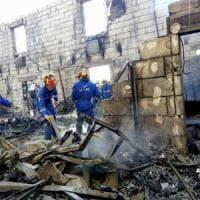 Ucraina: 16 morti nell'incendio di una casa per anziani a Kiev
