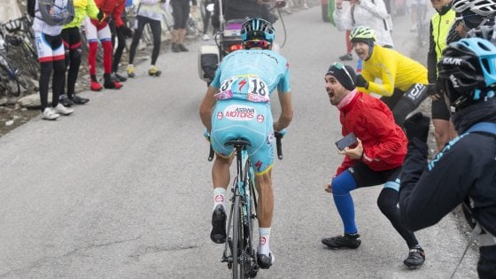 Giro, Scarponi l'oro di Nibali: ''La mia fatica a disposizione di un sogno''