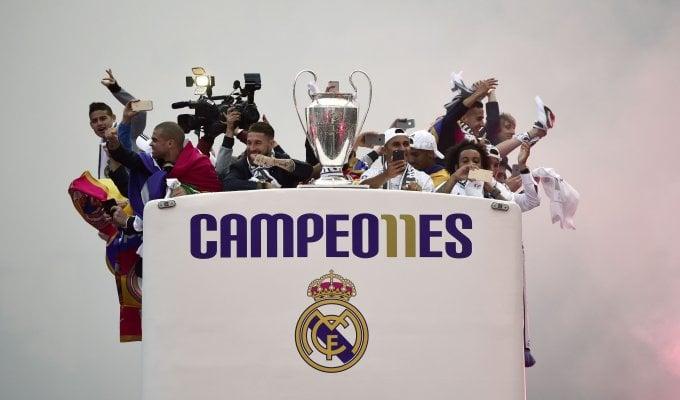 Champions, festa all'alba per il Real Madrid