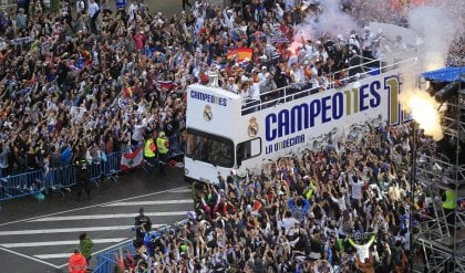 Delirio Real a Madrid   video   /   ft