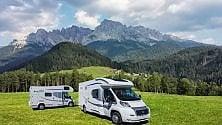 Dal Trentino all'Orcia Idee vacanza camper