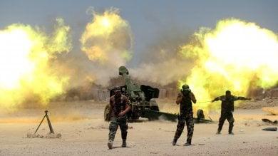 Iraq, forze irachene a Falluja   video   -   foto   battaglia contro l'Is per riconquistarla