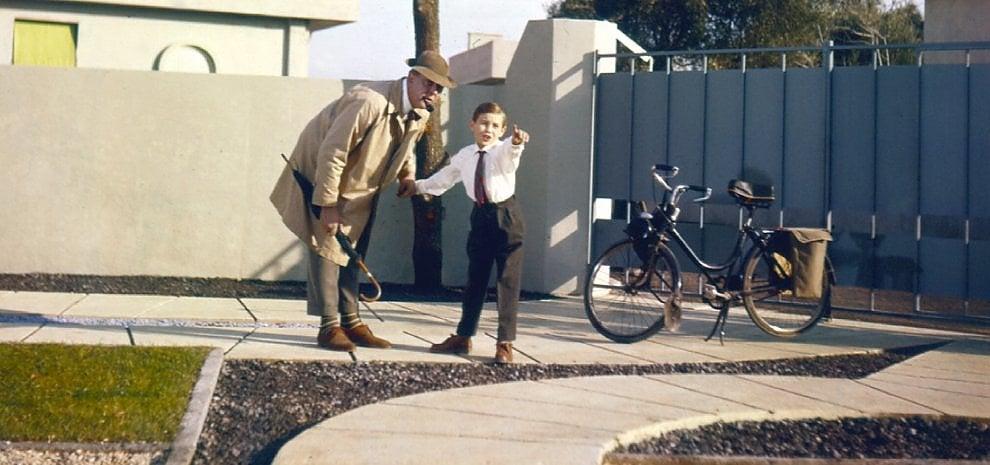 Jacques Tati, pipa e bicicletta. È tornato Monsieur Hulot