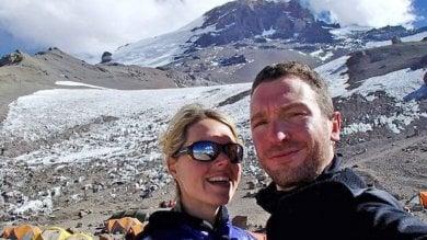 """Maria, l'italiana che sognava l'Everest Il marito: """"Avrei dovuto proteggerla"""""""