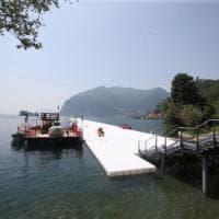 Il miracolo di Christo sul lago d'Iseo, il ponte d'artista fa il tutto esaurito