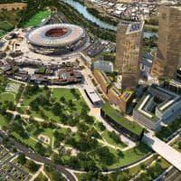 Roma, ecco il nuovo stadio: ma solo in foto
