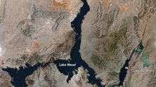 Lake Mead, mai così a secco: è ai minimi storici