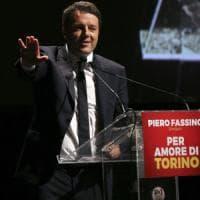 """Torino, Renzi: """"Airaudo-Landini la sinistra del no, godono a perdere"""""""