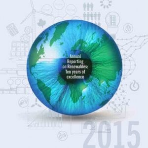 Energie rinnovabili, il 2015 è stato il migliore della storia