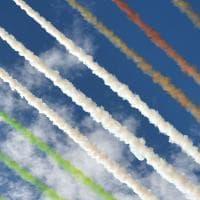 Festa della Repubblica, il passaggio delle Frecce Tricolori nel cielo di Roma