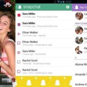 Snapchat mette la freccia e sorpassa Twitter