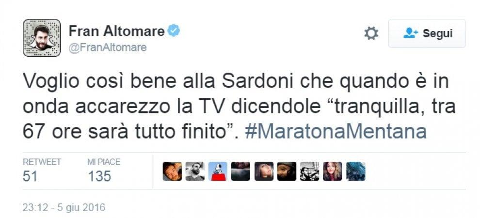 ''Lo spoglio a Roma finirà mercoledì'': l'ironia social sulla maratona tv di Mentana