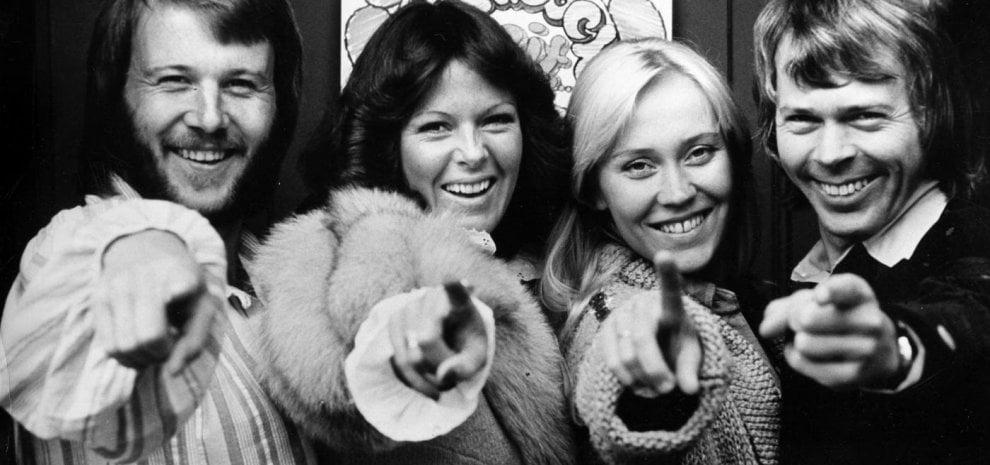 ABBA, festa e reunion per 50 anni di pop