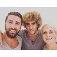 Belgio, nuovo look per Fellaini: si fa biondo come Valderrama