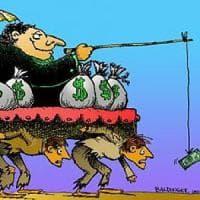 Disuguaglianze: quella clamorosa concentrazione di ricchezza in mano all'1%
