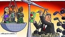 Disuguaglianze:  quella clamorosa concentrazione  di ricchezza  nelle mani dell'1%   di MARTA RIZZO