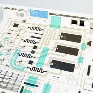 Addio silicio, i microchip diventano di carta