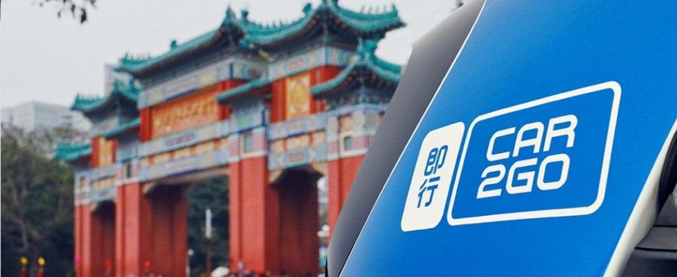 Car2go, in Cina è subito record