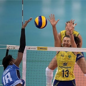 Volley femminile, World grand prix:  Brasile-Italia 3-1