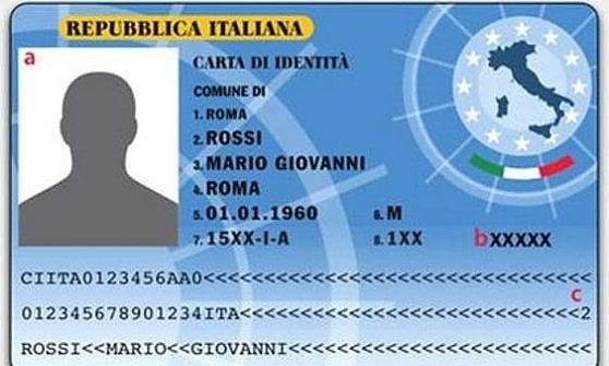La Carta d'identità classica che piace ai criminali