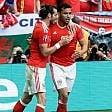 Galles-Slovacchia 2-1: prima festa con Bale e il gigante Kanu