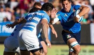 Rugby, vince l'Argentina: ma stavolta è grande Italia