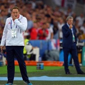 "Inghilterra, Hodgson: ""Pari che sa di sconfitta"". Slutski: ""Bravi a non mollare"""