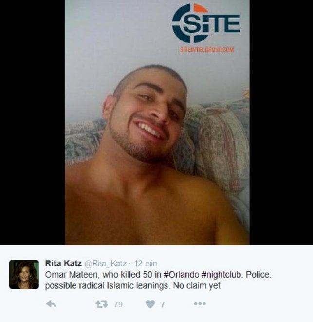 Strage a Orlando, su Twitter le foto dell'attentatore