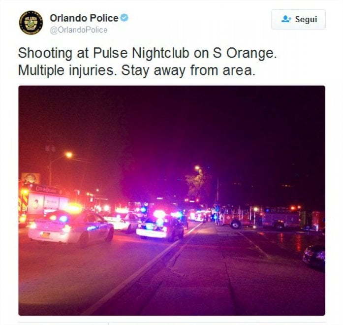 Orlando, le foto e i tweet: la ricostruzione della strage
