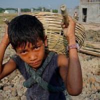 Lavoro minorile, sono 150 milioni i bambini coinvolti da 5 a 14 anni