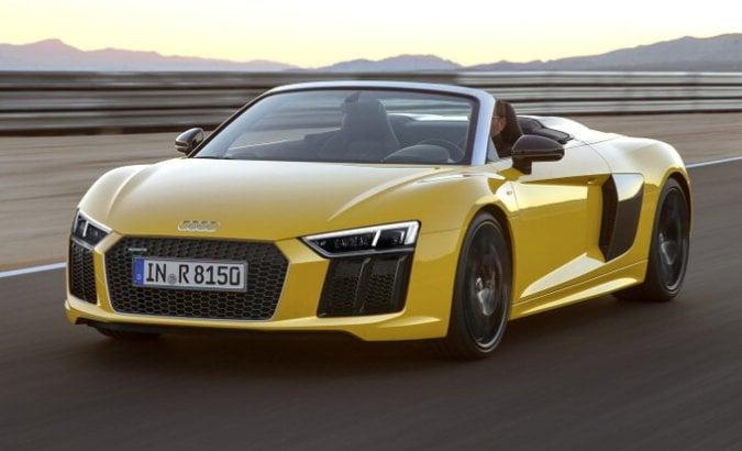 Audi show a Torino: così la nuova R8 Spyder ha incantato il Parco del Valentino