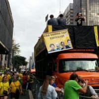 Perù, un coro per le battaglie sindacali a suon di musica degli edili