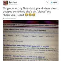 La nonna che chiede 'per favore' a Google: tweet del nipote è virale