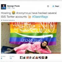 Twitter, hacker contro l'Is: messaggi pro Lgbt al posto della propaganda jihadista
