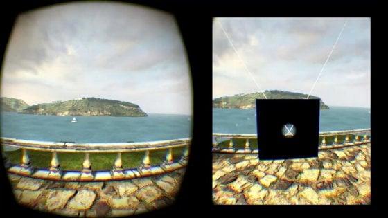 Realtà virtuale, un campo visivo limitato per combattere la nausea