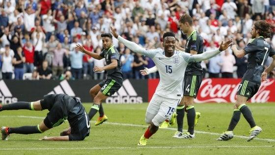 Inghilterra-Galles 2-1: Sturridge decide il derby nel recupero