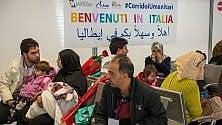 Corridoi umanitari: arrivati da Beirut ottantuno profughi  siriani e palestinesi
