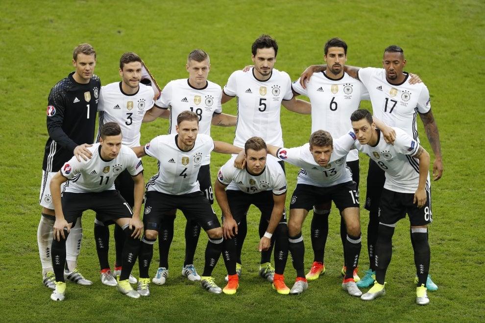 Germania-Polonia, il film della partita
