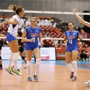 Volley, World Grand Prix a Bari: girone di ferro per le azzurre