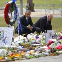 Strage Orlando, Obama nella città ferita: