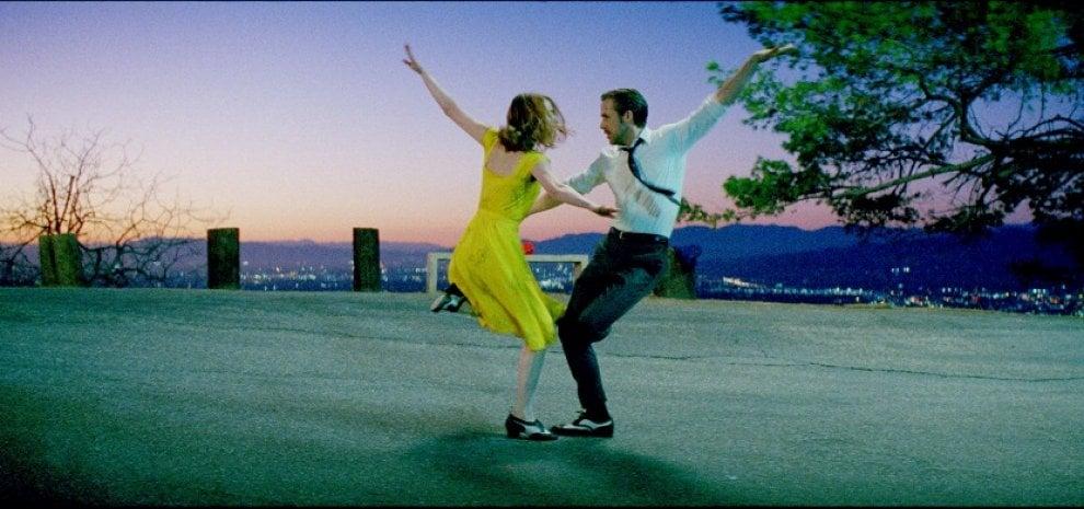 Venezia si inaugura ballando: è 'La La Land' con Emma Stone e Ryan Gosling