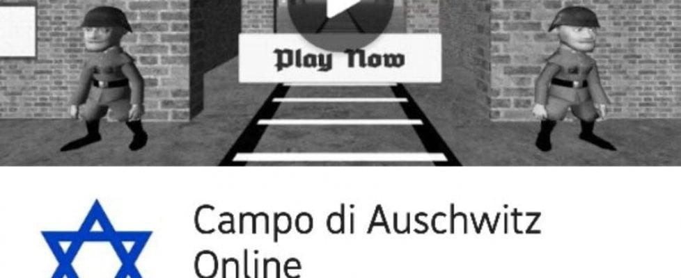 App antisemita simula la vita degli ebrei ad Auschwitz. ''E' un gioco-parodia'', ma è polemica